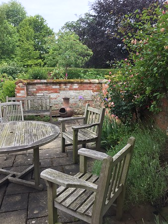 Outside Sitting Area at Washingford House