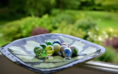 A Dish of Marbles