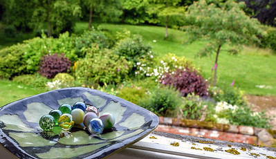 Marbles on the Windowsill