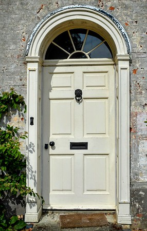 Front Door at Washingford House