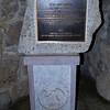 Historic National Landmark plaque and marker.