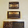 Other plaques in the Ahwahnee Hotel Lobby.