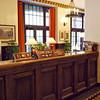 Concierge Desk at the Ahwahnee Hotel.