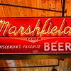Marshfield Beer sign