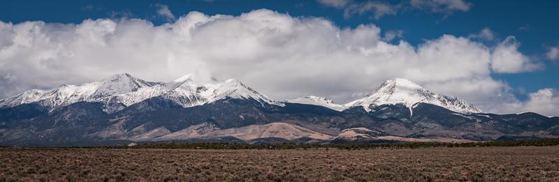 Sangre de Christo Mountain Range ~ On the Way to Walsenburg, CO