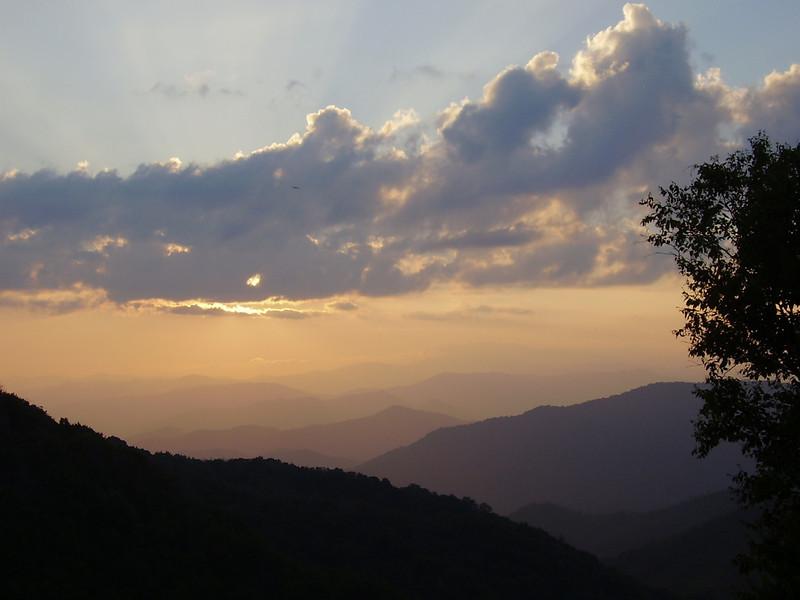 Sunset, August 23.
