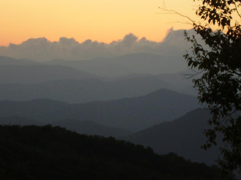Sunset, August 22.