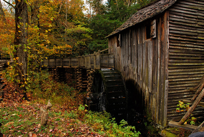 Cable Grist Mill at Cades Cove, Smoky Mountains National Park, TN