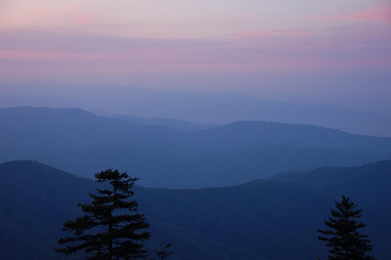 Sunrise at Clingman's Dome