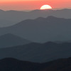 Sunset from Clingmans Dome, Great Smoky Mountains National Park