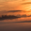 Sunrise and Fog over the Smokies from the Foothills Parkway
