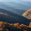 Fall View from Foothills Parkway, GMSNP