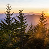 The Sun Sets over the Smoky Mountains
