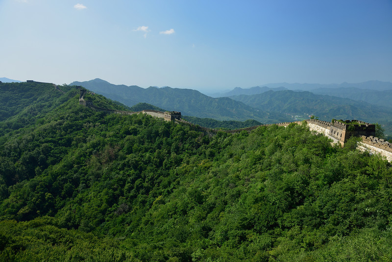 Mutianyu section of the Great Wall of China