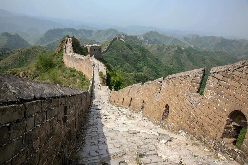 The Great Wall of China Jin Shan Ling to  Simiatai, China