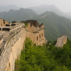 The Great Wall on the mountains in Beijing, China