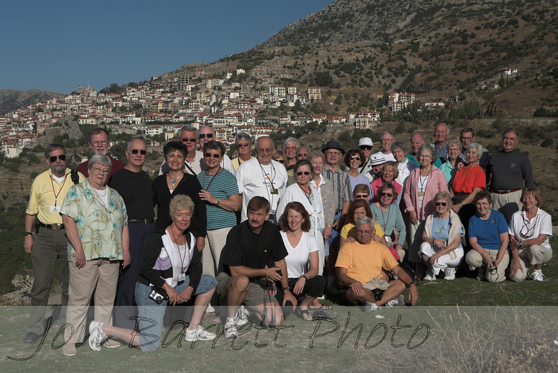 Athens, The Greek Islands, and Beyond Tour Group at Arachova