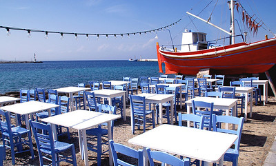 Mykonos Harbor Cafe'