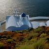 Chapel of the Virgin, Skaros, on Santorini.