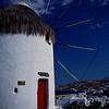 Working 16th-century windmill on Mykonos.