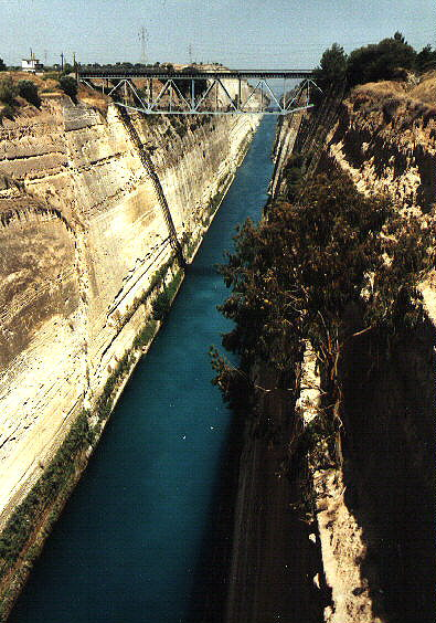 Canal of Korinth
