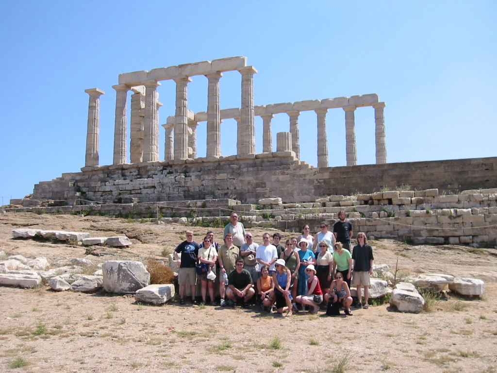 IMG_1243 -- Group in front of Temple of Poseidon