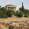 "Athens - this temple is located in The Agora (""market place""), below the Acropolis."