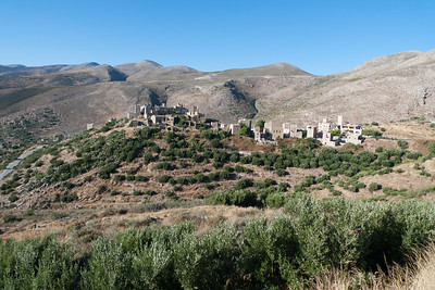 Vathia; Fortified against neighbours in same village!