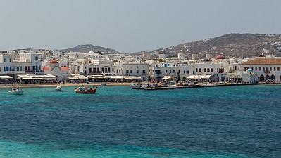Mykonos harbor