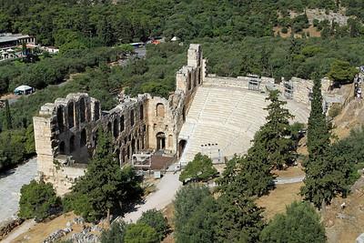 Theatre of Herodes Atticus, Acropolis, Athens.