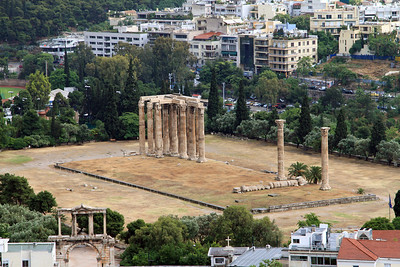 Temple of Olympian Zeus, Athens,