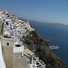Fira (you can see our hotel on the caldera :) )