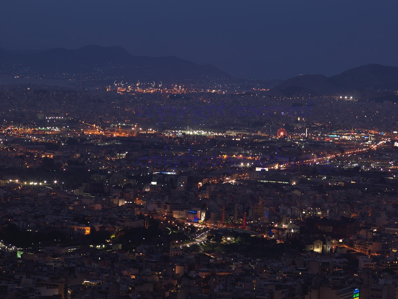 View of Athens from Lycavittos Hill