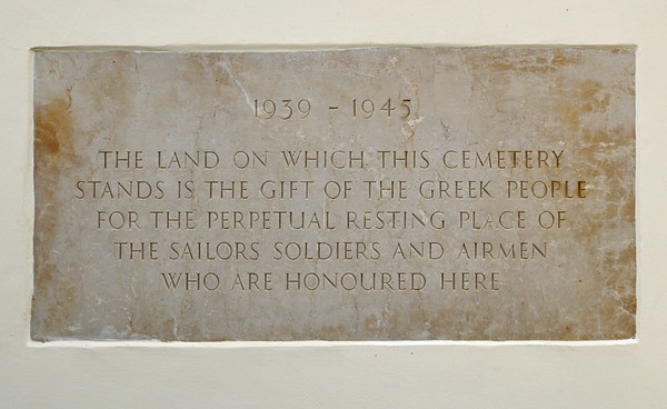 British Commonweath war cemetery, Suda Bay, Crete, 27 December 2009 2