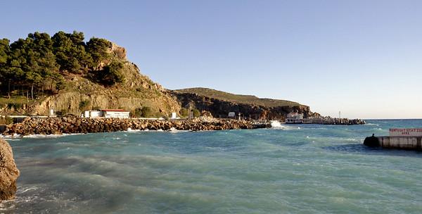 Sphakia, Crete, 28 December 2009 3.  Looking east.