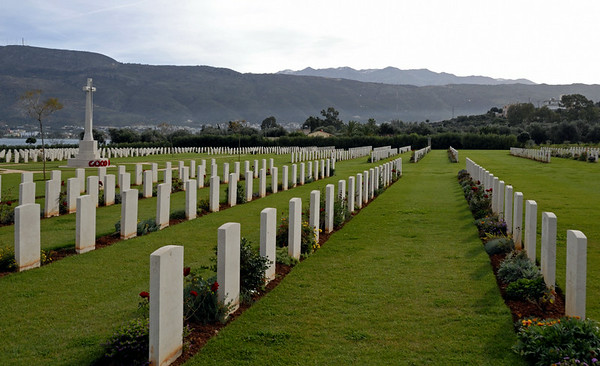 British Commonweath war cemetery, Suda Bay, Crete, 27 December 2009 5