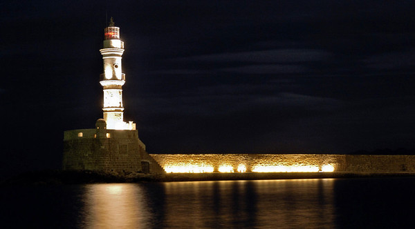 Lighthouse, Chania, Crete, 29 December 2009