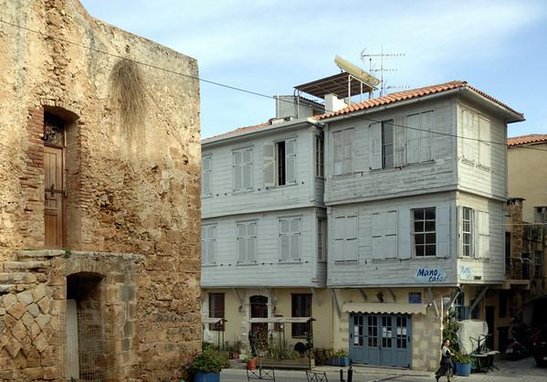 Gunpowder magazine and timber house, Chania, Crete, 27 December 2009