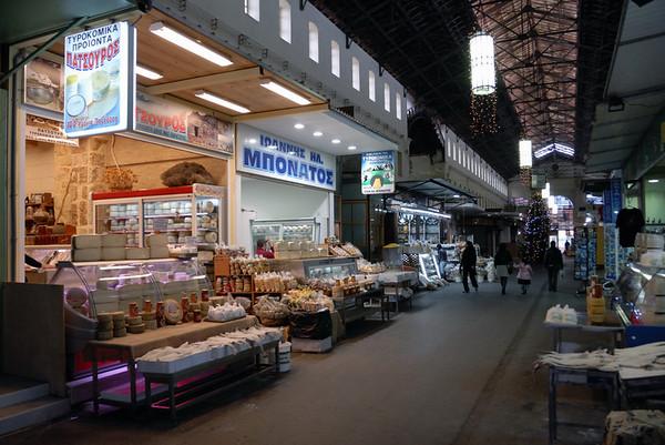 Municipal market, Chania, Crete, 29 December 2009 2