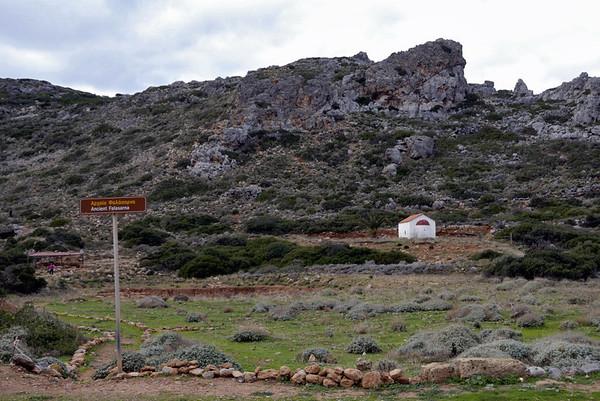 Ancient Falasarna, Crete, 22 December 2009