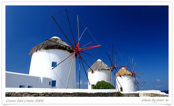 Greece Isles Cruise 2008 Mykonos