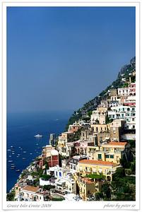 Greece Isles Cruise 2008 Sorrento & Amalfi