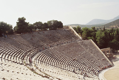 Greece- Nauplia port,Corinth,Temple of Apollo,Olympia, Epidaurus