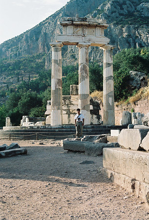 Greece- Patras, Peloponnese, Delphi, Temple of Apollo