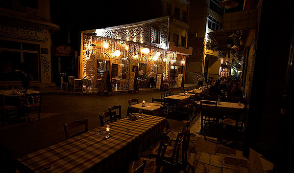 More restaurants in the Psiri area. Can you believe it is close to 1AM on a weekday?