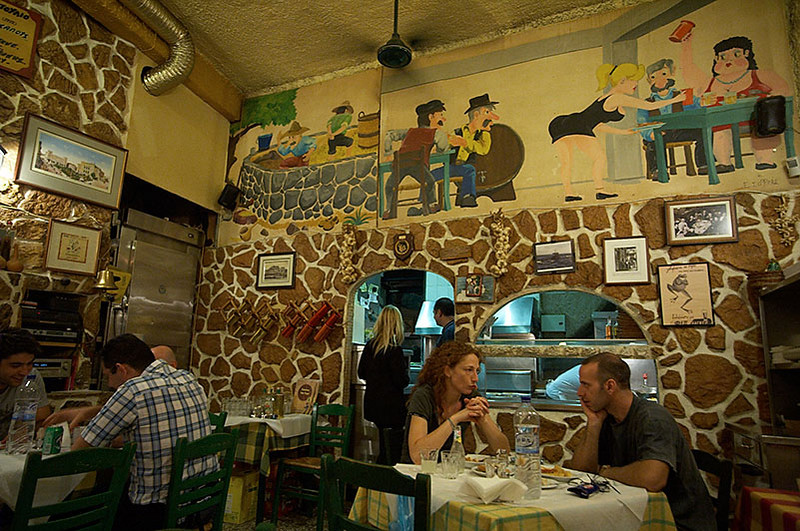 We arrived late in Athens on a Thursday, so our first day mainly consisted of going to Taverna tou Psiri for dinner.