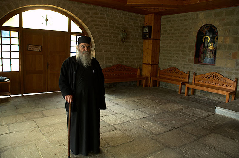 One of the monastery's monks.