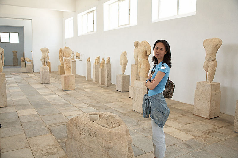 The museum at Delos.
