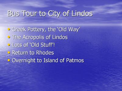 Greece - Walking in the Footsteps of St. Paul - 2006