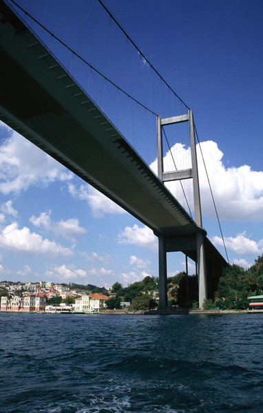 Under the Bosphorus Bridge Istanbul